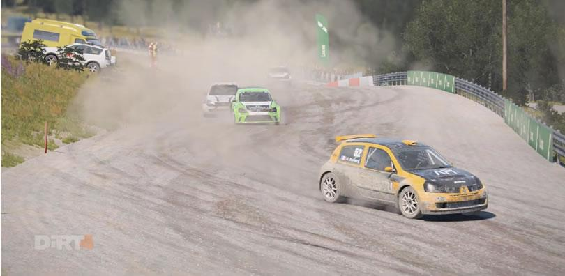 Dirt 4 - Hell, Norway - VW Polo WRX 1600