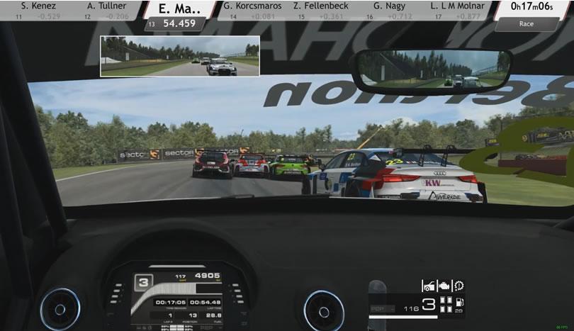 Raceroom - Mid Ohio - Audi A3 LMS TCR