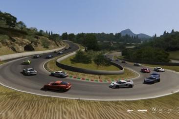 Assetto Corsa - egy klasszikus F1 pálya - Charade (Clermont-Ferrand)