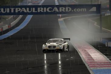 AC Competizione - Bentley Continental GT3 és Paul Ricard esőben