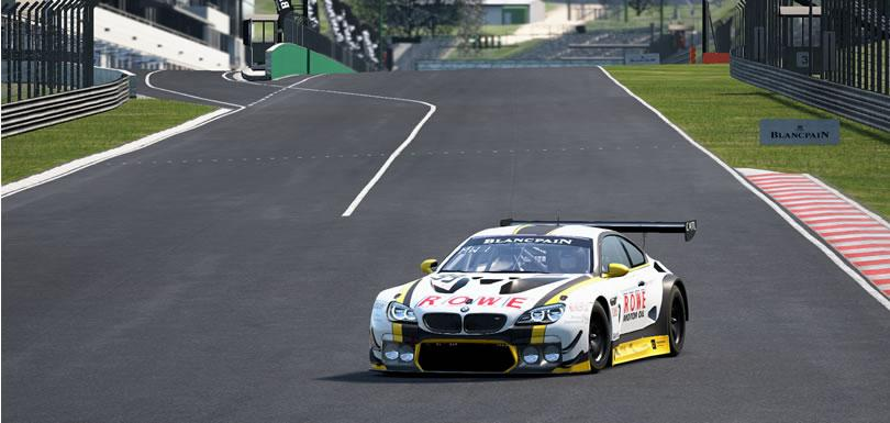 Assetto Corsa Competizione – Hungaroring és BMW M6 GT3 – Szimulátor